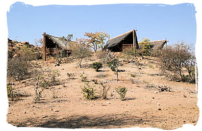 Vhembe wilderness camp in the Mapungubwe National Park