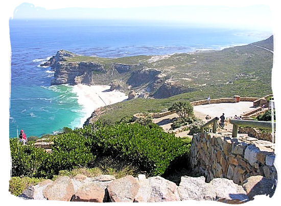 View of the Cape of Good Hope taken from Cape Point - Discover Cape Point South Africa and the Cape of Good Hope