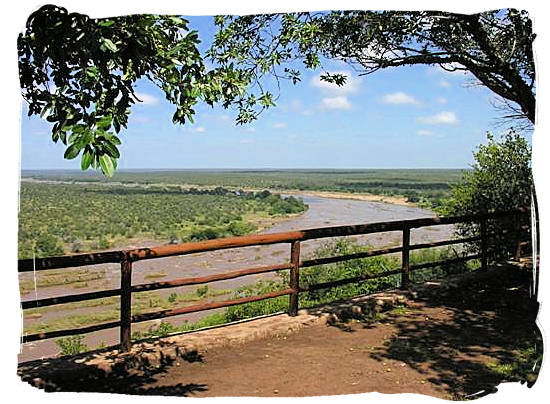 Olifants Restcamp, Kruger National Park, South Africa - View from the perimeter of the camp