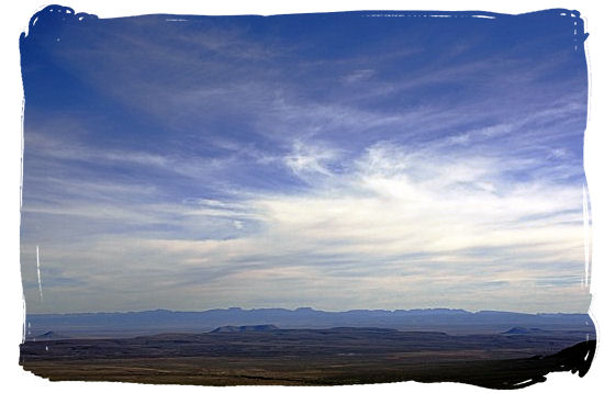 Beautiful Tankwa panorama taken from Ganaga Pass - Tankwa Karoo National Park, National Parks in South Africa