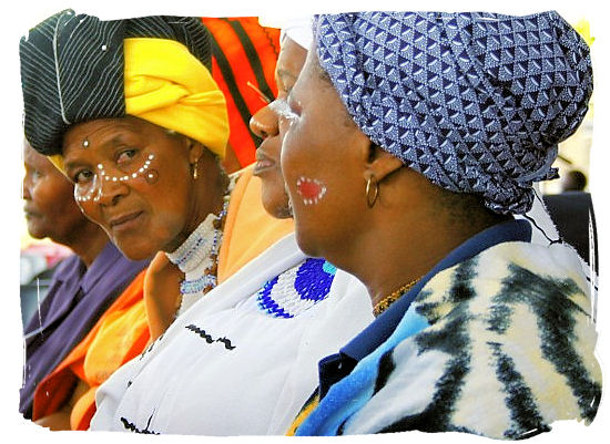 Xhosa ladies in traditional dress - Xhosa Tribe, Xhosa Language and Xhosa Culture in South Africa