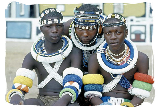 Young men of the Ndebele tribe on their initiation day - The Ndebele Tribe, Ndebele People, Culture and Language