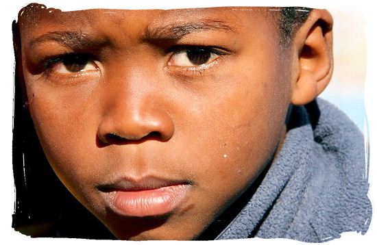 Young Xhosa boy - Xhosa Tribe, Xhosa Language and Xhosa Culture in South Africa