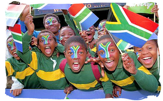 Young rugby supporters - South Africa Rugby, Tri Nations Rugby and Super 14 Rugby