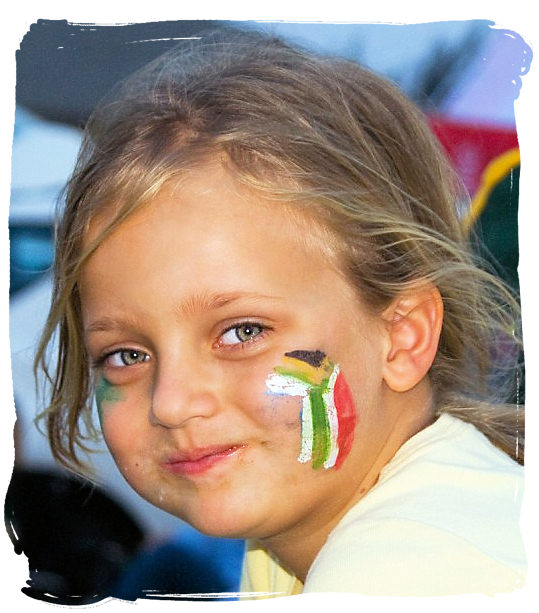 A young rugby supporter - South Africa Rugby, Tri Nations Rugby and Super 14 Rugby