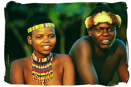 Young Zulu couple - Black People in South Africa, Black Population in South Africa